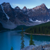 Dawn over Moraine Lake